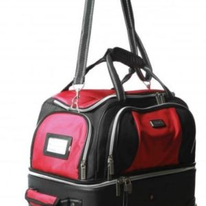Large Carry and Wheel Bag – Red